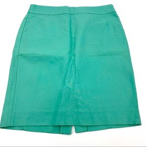 J.Crew Factory pencil skirt in double serge cotton